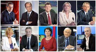 Investigation Numérologique : Les 10 candidats aux élections présidentielles face au 22/04/2012